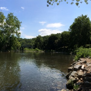 Brandywine River and Breck's Mill